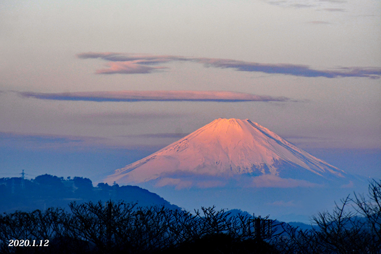 この日は‥『自宅から90km先の富士』_d0251161_09531541.jpg