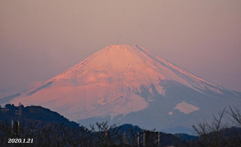この日は‥『自宅から90km先の富士』_d0251161_09543049.jpg