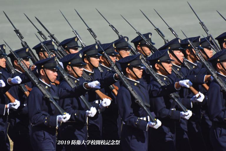 観閲式『2019 防衛大学校開校記念祭』⑩_d0251161_13131352.jpg