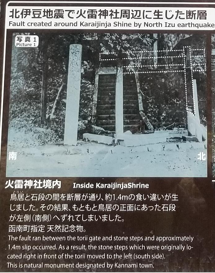 ◆ 丹那断層のズレ!「火雷神社」へ(2019年1月)_d0316868_22014601.jpg
