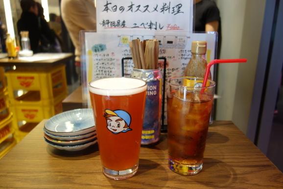 立ち飲みビールボーイ&おにやんま_e0230011_17034373.jpg