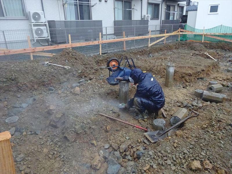 下太田 古材の家 着工です。_f0105112_04573340.jpg