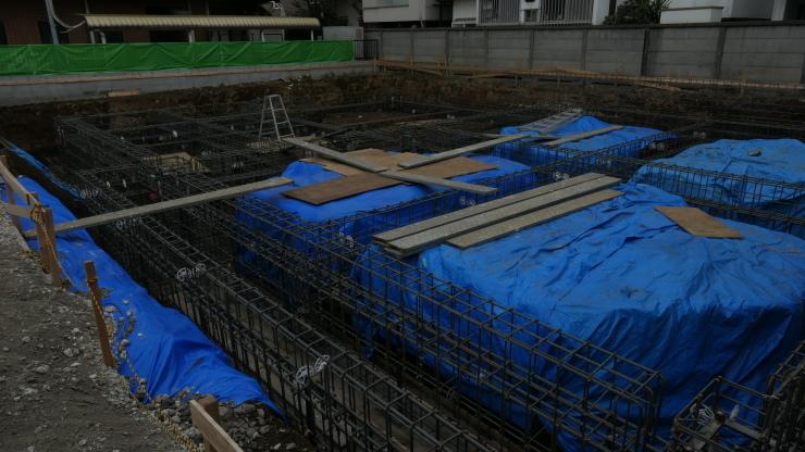 りぶうぇる練馬ディサービスセンター(05)   基礎、地中梁配筋検査_b0074416_15314801.jpg