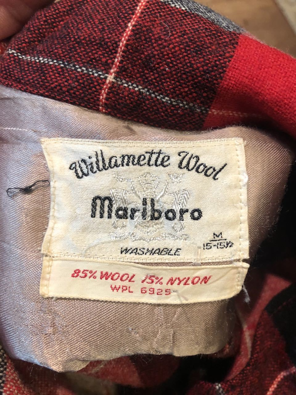 1月25日(土)入荷!60s Marlboro Wool オープンカラーシャツ!_c0144020_13240519.jpg