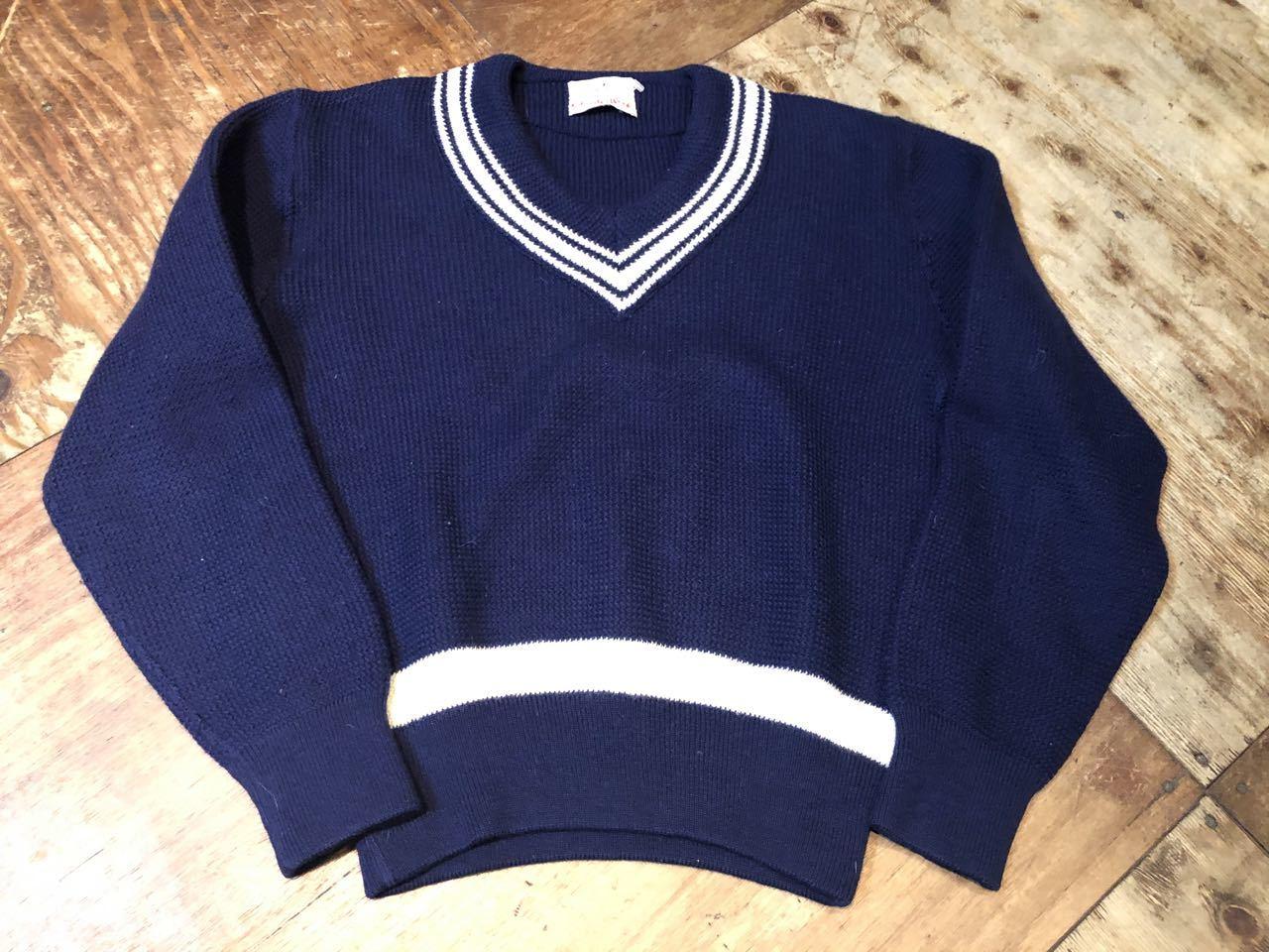 1月25日(土)入荷!all wool NORWAY製 クリケットセーター(チルデンセーター)_c0144020_13270197.jpg