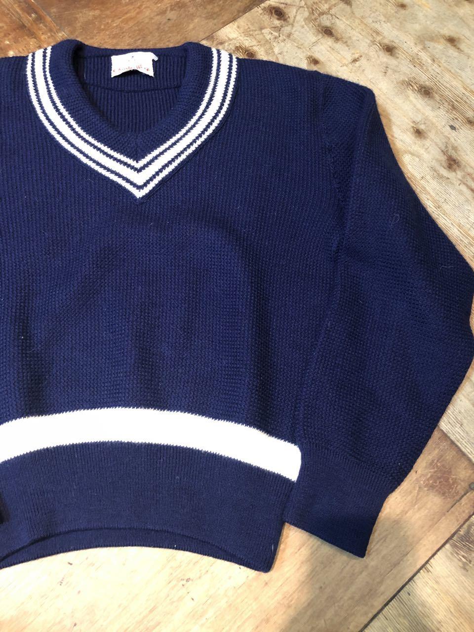 1月25日(土)入荷!all wool NORWAY製 クリケットセーター(チルデンセーター)_c0144020_13270499.jpg
