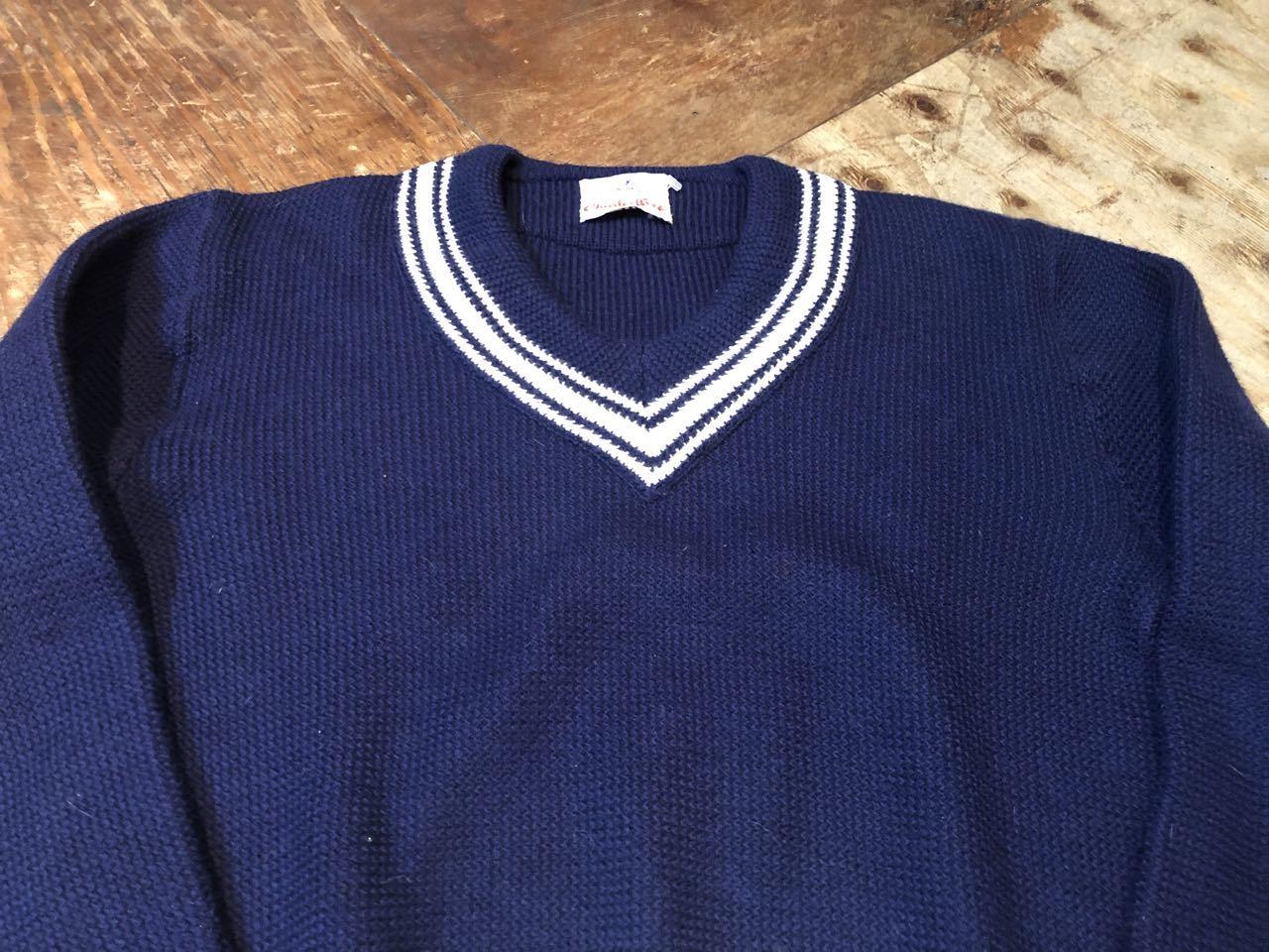 1月25日(土)入荷!all wool NORWAY製 クリケットセーター(チルデンセーター)_c0144020_13270517.jpg