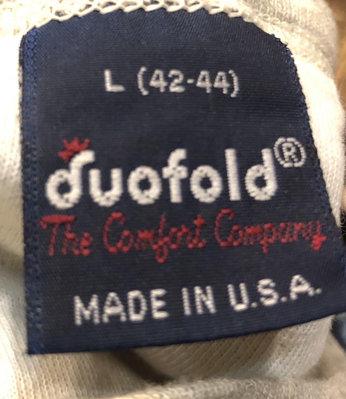1月25日(土)入荷!80s MADE IN U.S.A duofold 2レイヤー アンダーシャツ!_c0144020_13294725.jpg