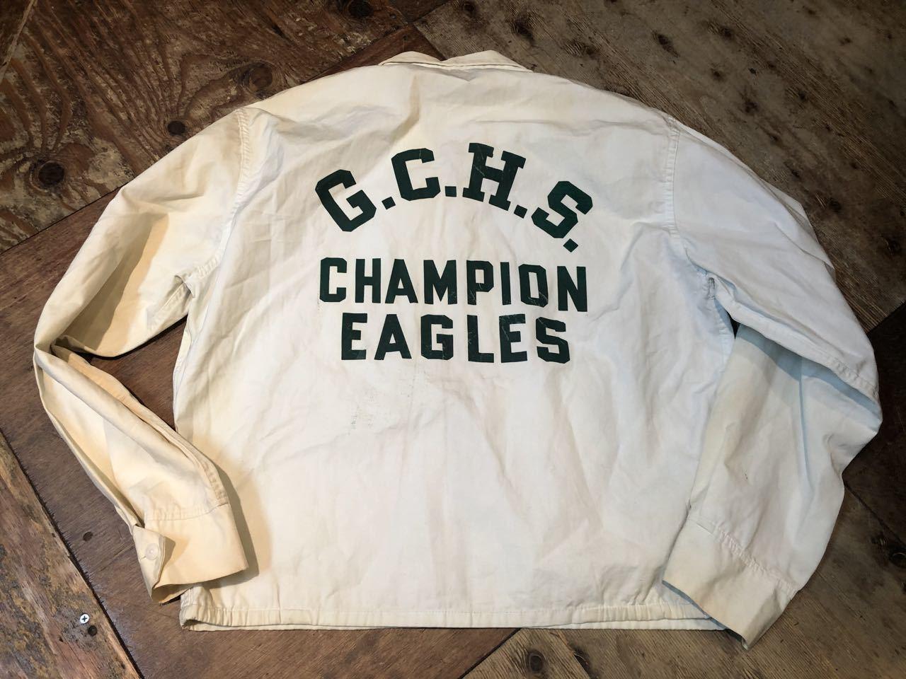 1月25日(土)入荷!60s ランタグ チャンピオン champion ドッグイヤーカラー コットンジャケット!_c0144020_13382106.jpg