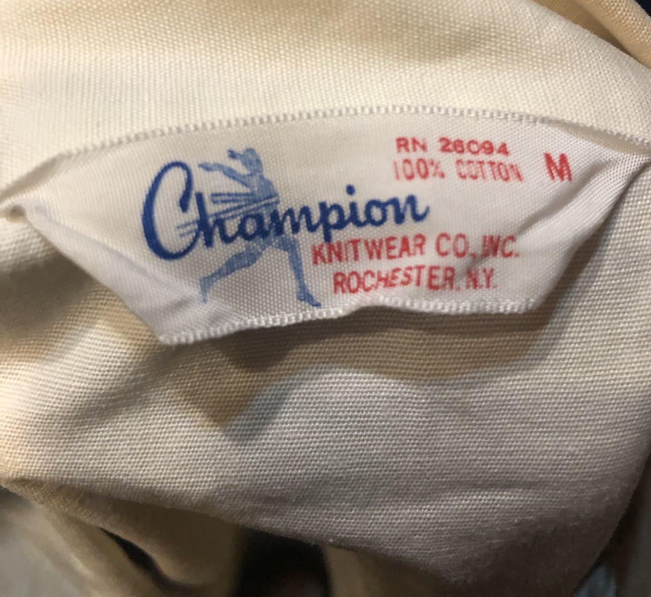 1月25日(土)入荷!60s ランタグ チャンピオン champion ドッグイヤーカラー コットンジャケット!_c0144020_13383025.jpg
