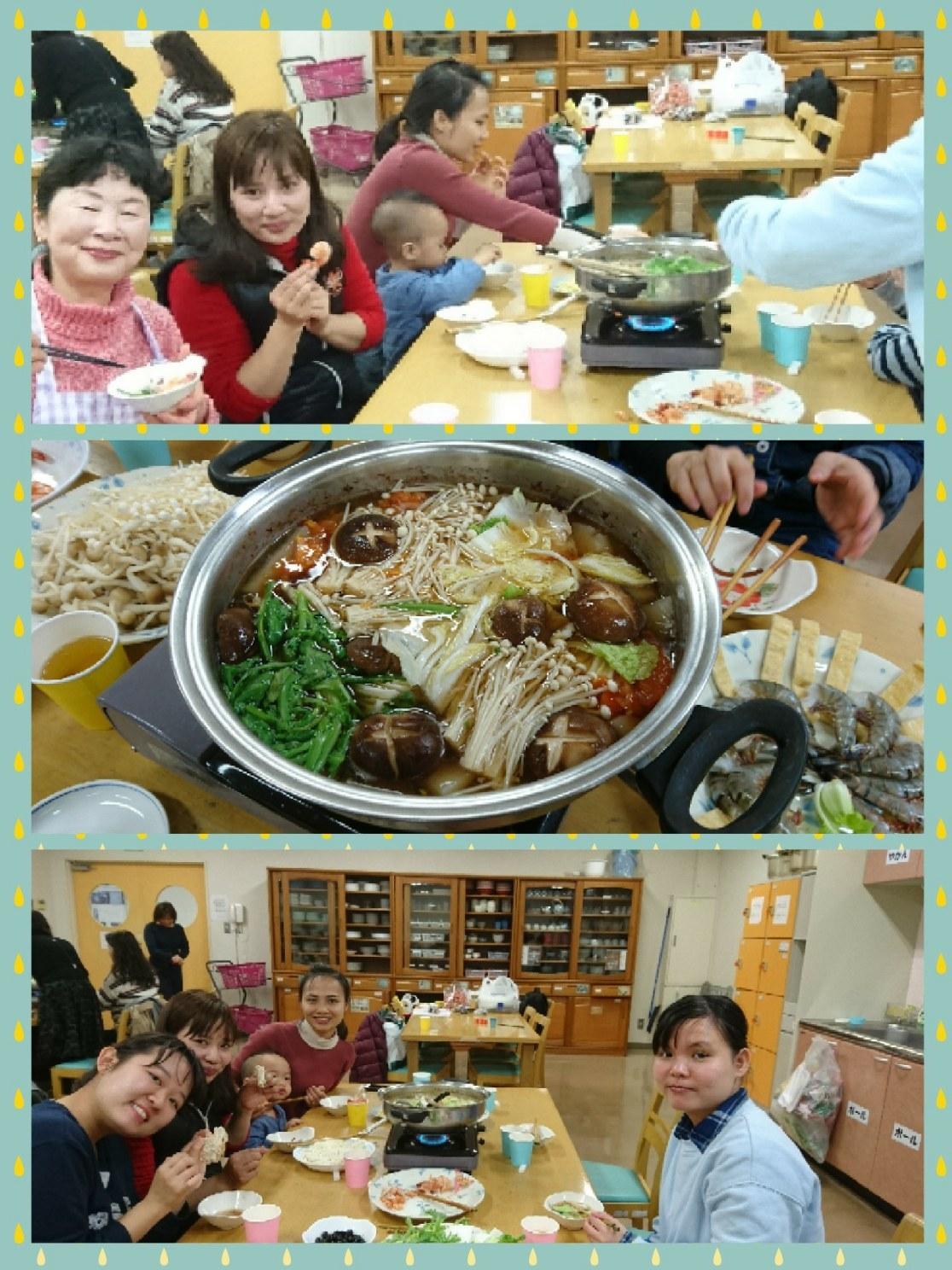 インターナショナルキッチン 「冬はやっぱり鍋でしょう!?」 火曜日朝教室 _e0175020_00373440.jpg