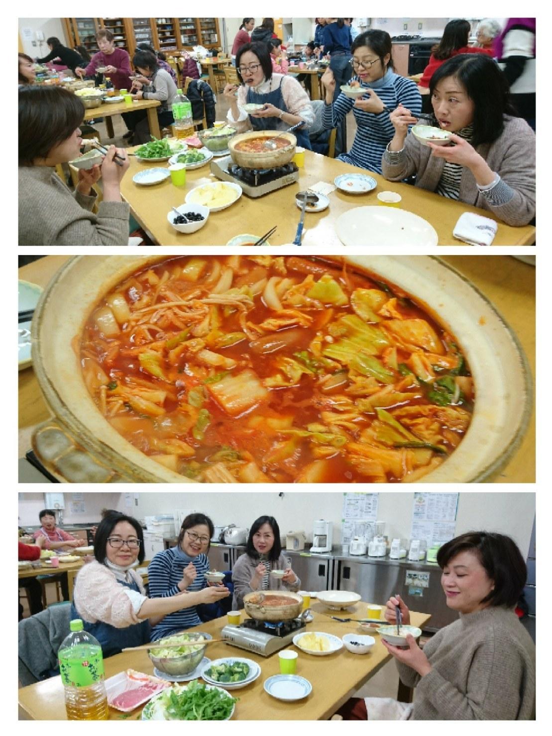 インターナショナルキッチン 「冬はやっぱり鍋でしょう!?」 火曜日朝教室 _e0175020_00393278.jpg