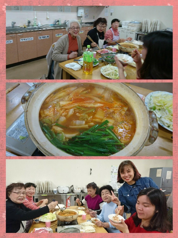インターナショナルキッチン 「冬はやっぱり鍋でしょう!?」 火曜日朝教室 _e0175020_00412583.jpg