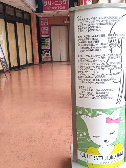 美容院さんの看板イラストやフライヤー_a0040621_17503910.jpg