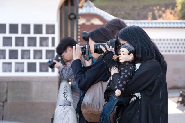 キラク写真教室 秋の金沢 撮影会① 金沢城周辺_e0369736_08472571.jpg