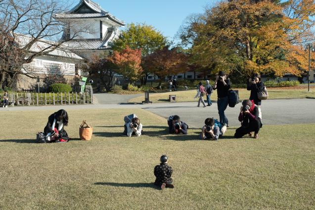 キラク写真教室 秋の金沢 撮影会① 金沢城周辺_e0369736_08473126.jpg