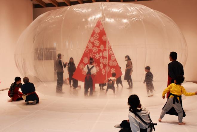 ワークショップ「みんなで飾るクリスマスドーム」を開催しました!_c0222139_10550896.jpg