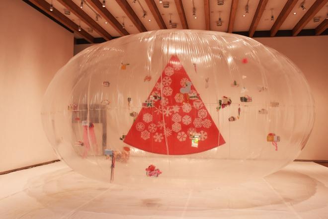 ワークショップ「みんなで飾るクリスマスドーム」を開催しました!_c0222139_16564627.jpg
