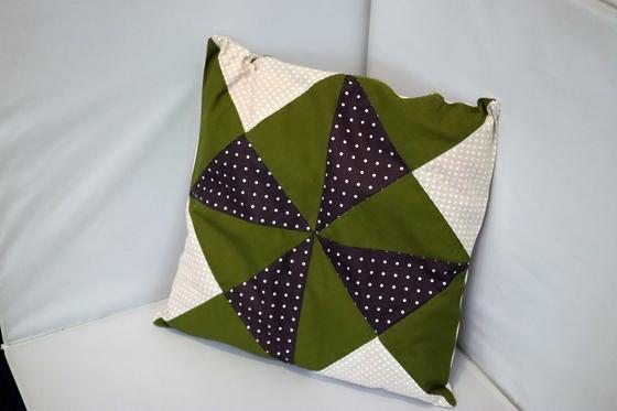 裁縫 ~ パッチワークの寝具セット ~_e0222340_15372320.jpg