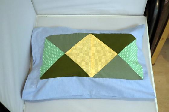 裁縫 ~ パッチワークの寝具セット ~_e0222340_15374721.jpg