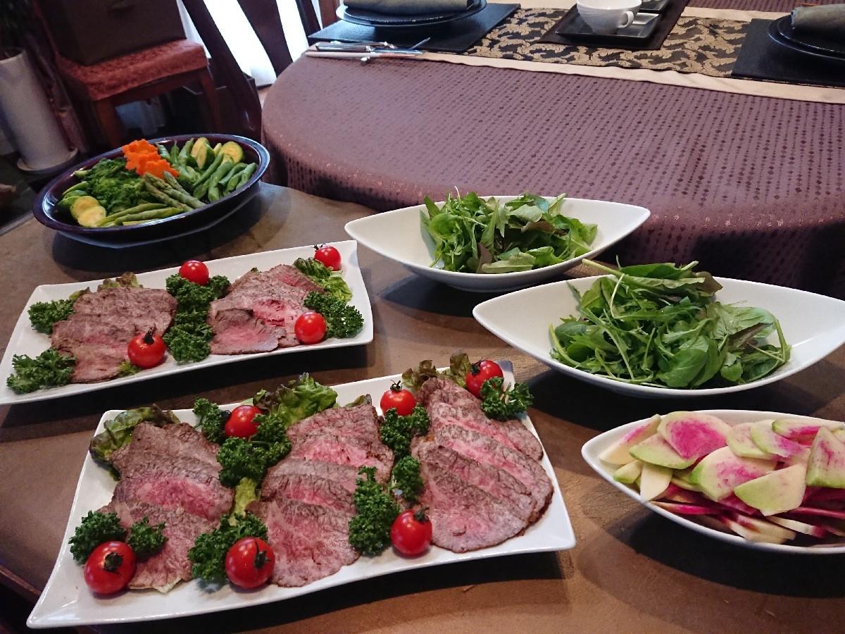リクエスト料理教室「おもてなしのローストビーフ」_f0323446_22454779.jpg