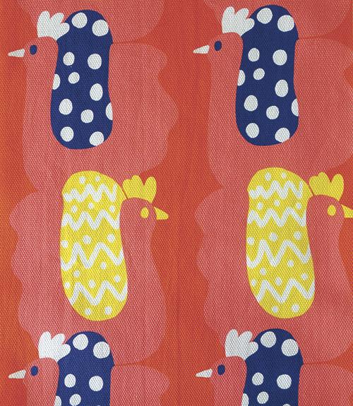 未来の行方を教えてくれる風の布小物たち【Kayoko Kawata「Spring breeze」Zakuro original print textile展】_a0017350_02151638.jpg