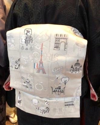 野田さんコンサートのお客様・結城紬や楽器の帯。_f0181251_17413773.jpg