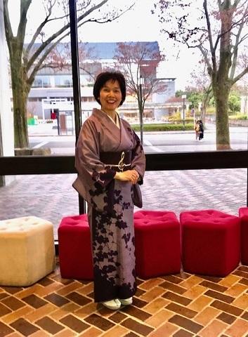 野田さんコンサートのお客様・結城紬や楽器の帯。_f0181251_17442008.jpg