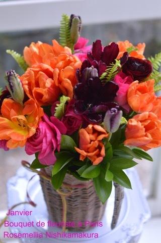 1月パリのお花屋さんレッスン_d0078355_11174632.jpg