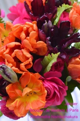 1月パリのお花屋さんレッスン_d0078355_11181896.jpg