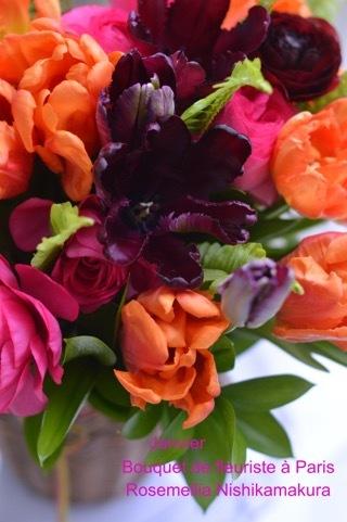 1月パリのお花屋さんレッスン_d0078355_11183383.jpg