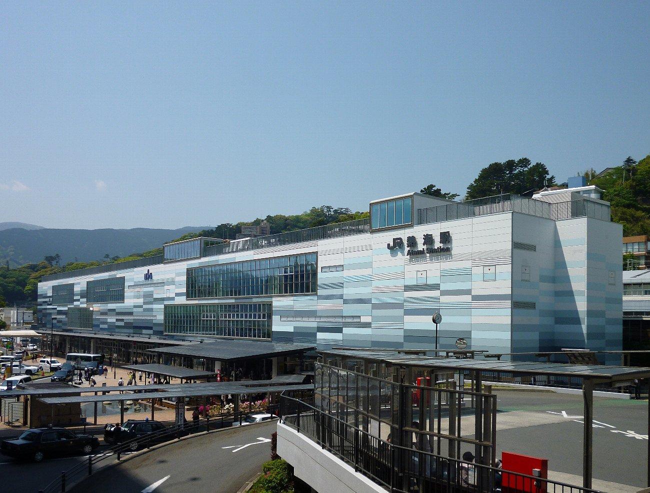 家族旅行 熱海から静岡へ_c0112559_08183809.jpg
