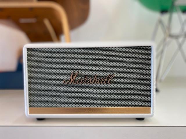 昨年から国内在庫が枯渇していたMARSHALL BluetoothスピーカーACTONⅡWHITEがようやく入荷しました!_b0125570_12281893.jpg