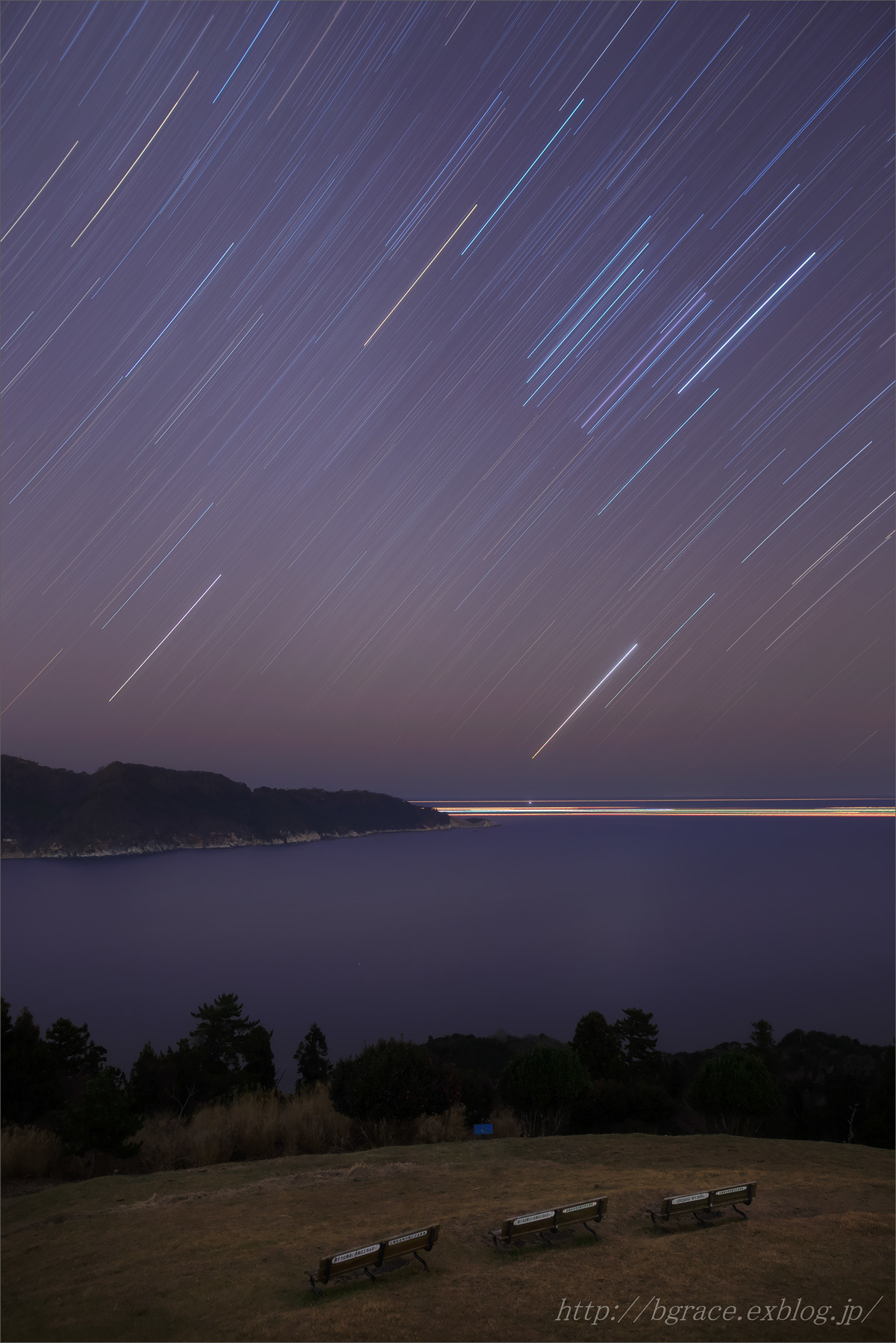 長時間露光の星々_b0191074_20125055.jpg