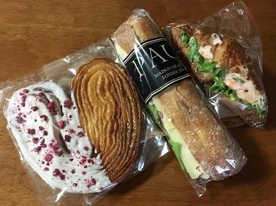 BAKEのミルクソフトとPAULのパン♪_f0231189_23084670.jpg