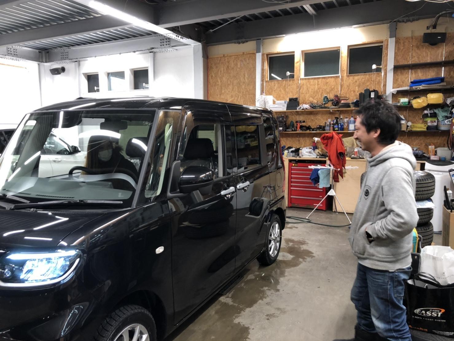 1月25日(日)O様新車タント納車☆エスカレード ゼロデザインあります✊レクサス ランクル ハマー TOMMY_b0127002_19003777.jpg
