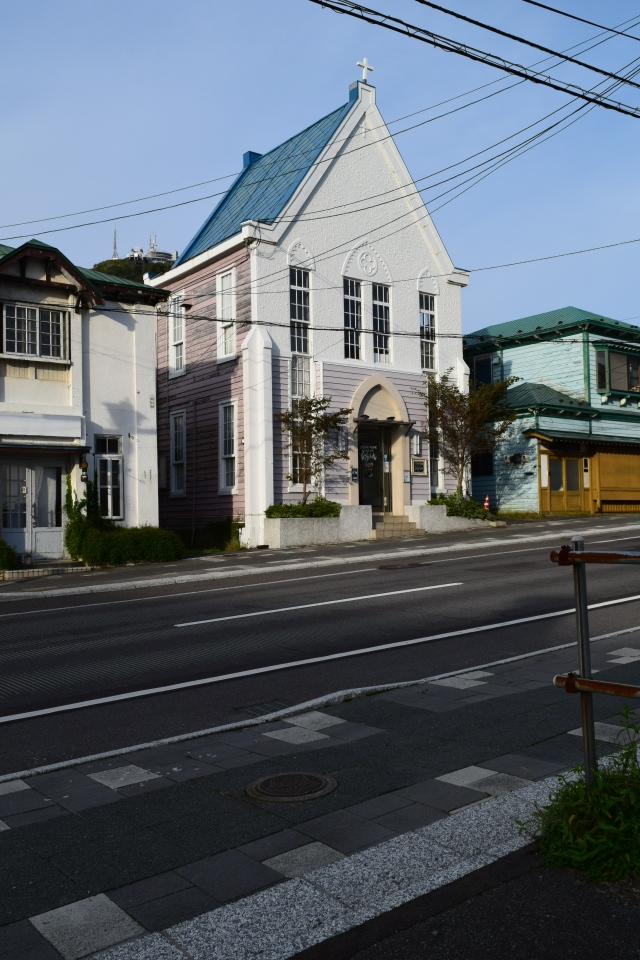 函館元町港ヶ丘教会(函館の建築再見)_f0142606_11145021.jpg