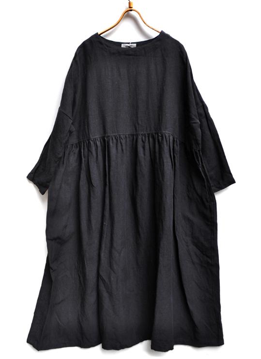 リネンギャザードレス / ICHI Antiquite\'s_d0193211_17284387.jpg