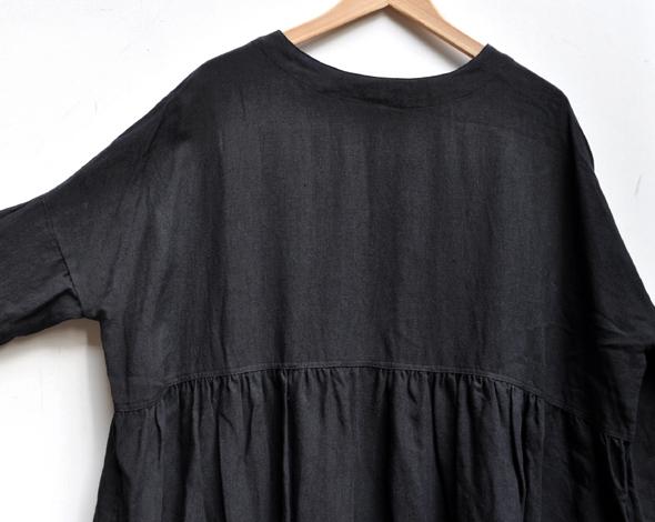 リネンギャザードレス / ICHI Antiquite\'s_d0193211_17291917.jpg