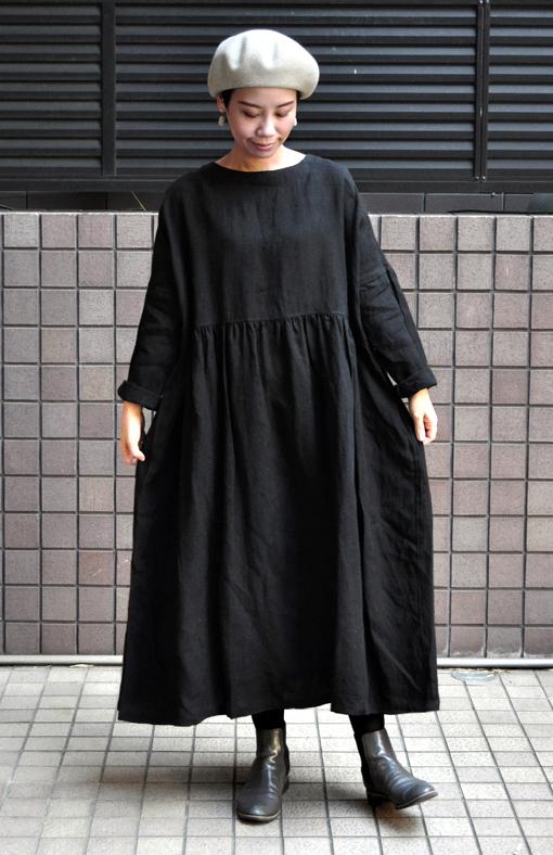 リネンギャザードレス / ICHI Antiquite\'s_d0193211_17325023.jpg
