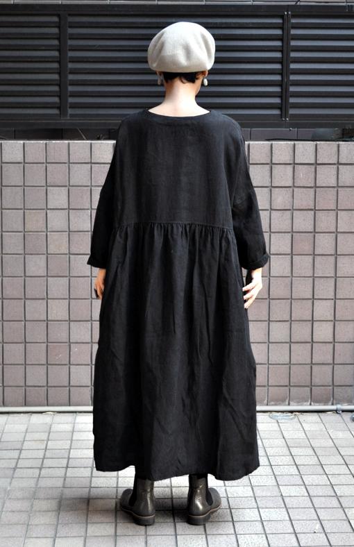 リネンギャザードレス / ICHI Antiquite\'s_d0193211_17333577.jpg