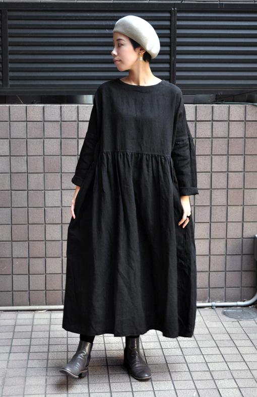 リネンギャザードレス / ICHI Antiquite\'s_d0193211_17341396.jpg