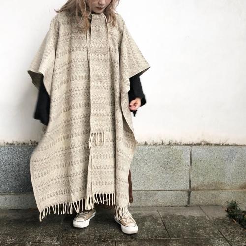 Retro Vintage Blanket Poncho Design Coat✨_a0182112_12394767.jpg