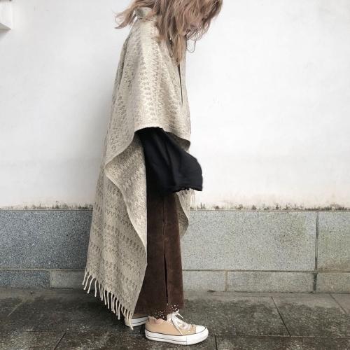 Retro Vintage Blanket Poncho Design Coat✨_a0182112_12394801.jpg
