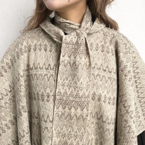 Retro Vintage Blanket Poncho Design Coat✨_a0182112_12394999.jpg