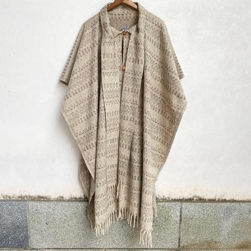 Retro Vintage Blanket Poncho Design Coat✨_a0182112_12395142.jpg