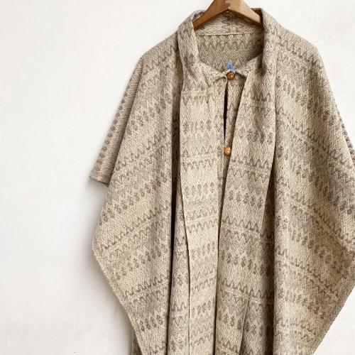 Retro Vintage Blanket Poncho Design Coat✨_a0182112_12401124.jpg