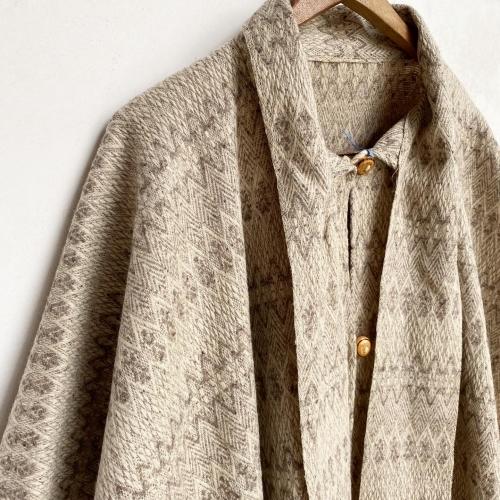 Retro Vintage Blanket Poncho Design Coat✨_a0182112_12401270.jpg