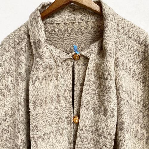 Retro Vintage Blanket Poncho Design Coat✨_a0182112_12401441.jpg