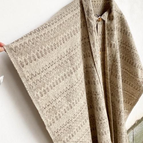 Retro Vintage Blanket Poncho Design Coat✨_a0182112_12401520.jpg